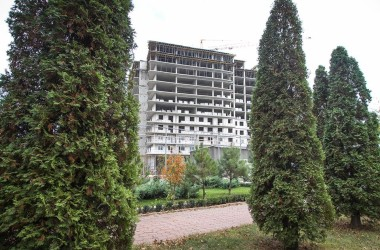 Сади Семіраміди. Закінчуємо заливку останнього, 12-го поверху
