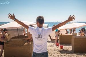 Фахівці Фамільного дому взяли участь у фестивалі піщаних фігур Odessa Sand Fest