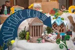 Фамильный Дом принял участие в благотворительнойвыставке Пряничных Домиков