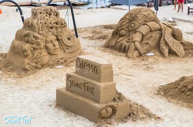 Помогли провести юбилейный Odessa Sand Fest