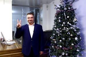 C Новим роком та Різдвом Христовим