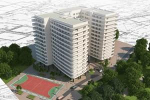 Новый жилой комплекс «Сады Семирамиды» на 5-й станции Большого Фонтана