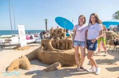 Фамильный Дом втретє підтримав масштабний Фестиваль піщаної скульптури